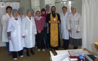 Освящение поликлиники Волжского