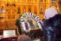 Мощи святой Матроны в Волгограде