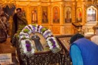 В кафедральный Казанский собор Волгограда доставлены часть мощей и икона святой блаженной Матроны Московской