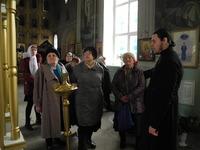 Покровская церковь встречает гостей