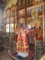 Епископ Елисей посетил Богоявленский храм Фролово
