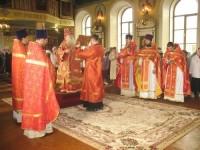 Митрополит Герман провел богослужение в Камышине