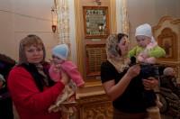 Крещение детей Дома ребёнка в Волжском