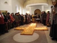 Покаянный молебен прошёл в Волжском