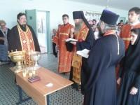Епископ Елисей освятил школу