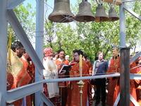 Освящение колоколов Свято-Тихоновского храма