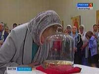 В Волгоград прибыли мощи святой Марии Магдалины