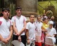 Группа детей из приюта смогла побывать на Святой земле
