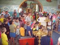 В Покровском храме состоялся молебен