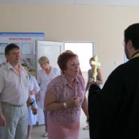 Освящение родильного дома города Камышина