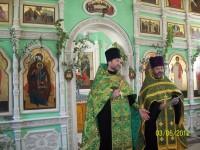 Престольный праздник Свято-Троицкого храма