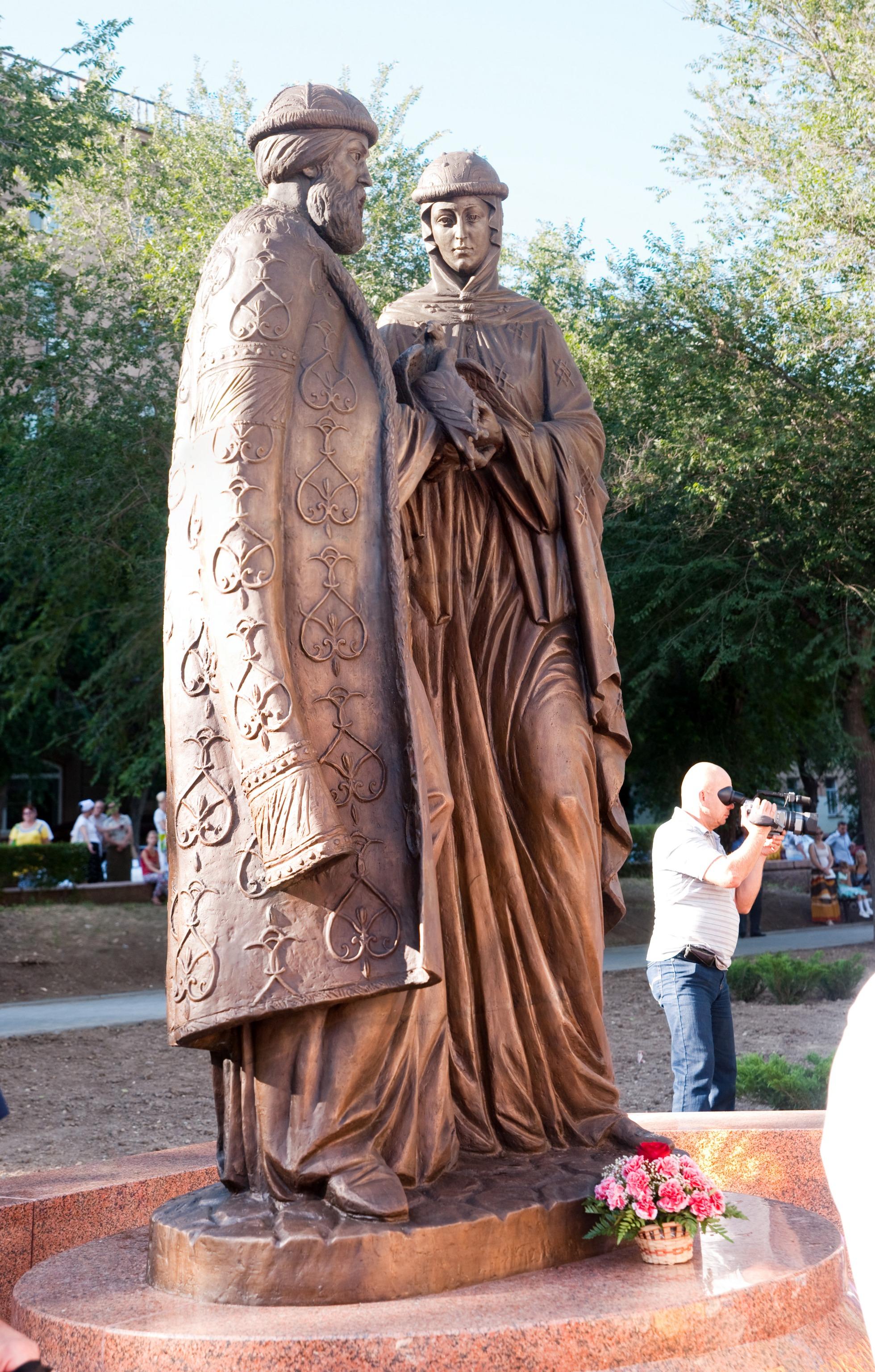 В Крыму появится новый памятник Петру и Февронии