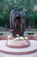 В Волгограде открылся памятник муромским святым