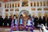Освящение Казанского храма прошло в Серафимовиче