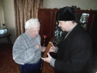 Посещение участников Сталинградской битвы