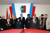 Встреча участников Сталинградской битвы
