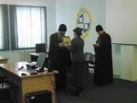 Студенты встретились с епископом Елисеем