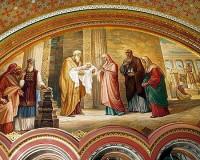 Христиане отмечают Сретение Господне