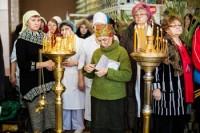 Молебен в Горбольнице Волжского