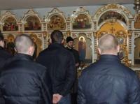Осуждённые посетили Никольский кафедральный собор