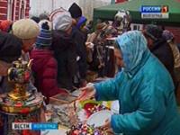 В Казанском соборе отпраздновали Масленицу