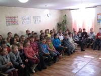 Встреча школьников с Прощёным воскресеньем