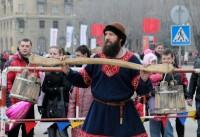 В Волгоград иеромонах Феоктист привёз богатырей