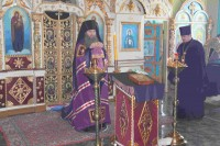 Божественная Литургия в ст. Добринской