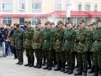 Проводы призывников в армию