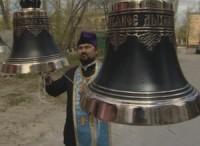 Установка колоколов в храме Новомучеников
