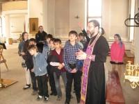Школьная экскурсия в храм