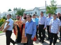 Открытие храма святых бессребреников Космы и Дамиана