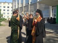 Владыка принял участие в посвящении студентов в кадеты