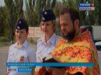В области освятили опасный участок трассы M-6 «Каспий»