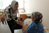 Социальные работники посетили городскую больницу