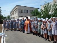 Священники посетили женскую ИК