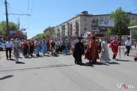В День Победы в Сталинграде прошел крестный ход