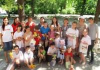 Детский праздник на Православной станции