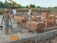 В Чернышковском районе возводят новый храм
