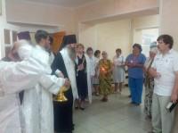 Божественная Литургия в храме-часовне