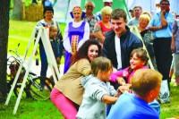 Троицкие гуляния в Михайловке