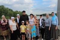 Паломники посетили мужской монастырь