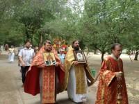Встреча святынь из Греции