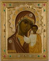 Табынская икона Богоматери совершила крестный ход