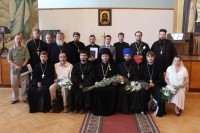 Выпускники православного университета 2013 года