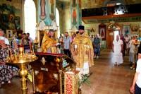 Праздничное богослужение в Покровском храме