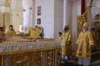 Епископ Елисей принял участие в молебне