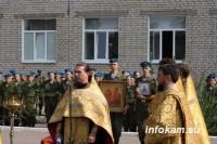 В День ВДВ в Камышине освятили храм Пророка Илии