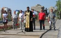 Митинг и лития в День ВДВ в Волжском