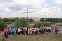 Освящение Поклонного креста в Бубновском сельском поселении